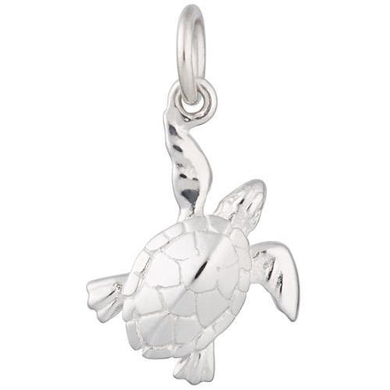 Silver Turtle Charm by Lily Charmed