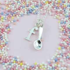 Personalised Silver Spoon Necklace