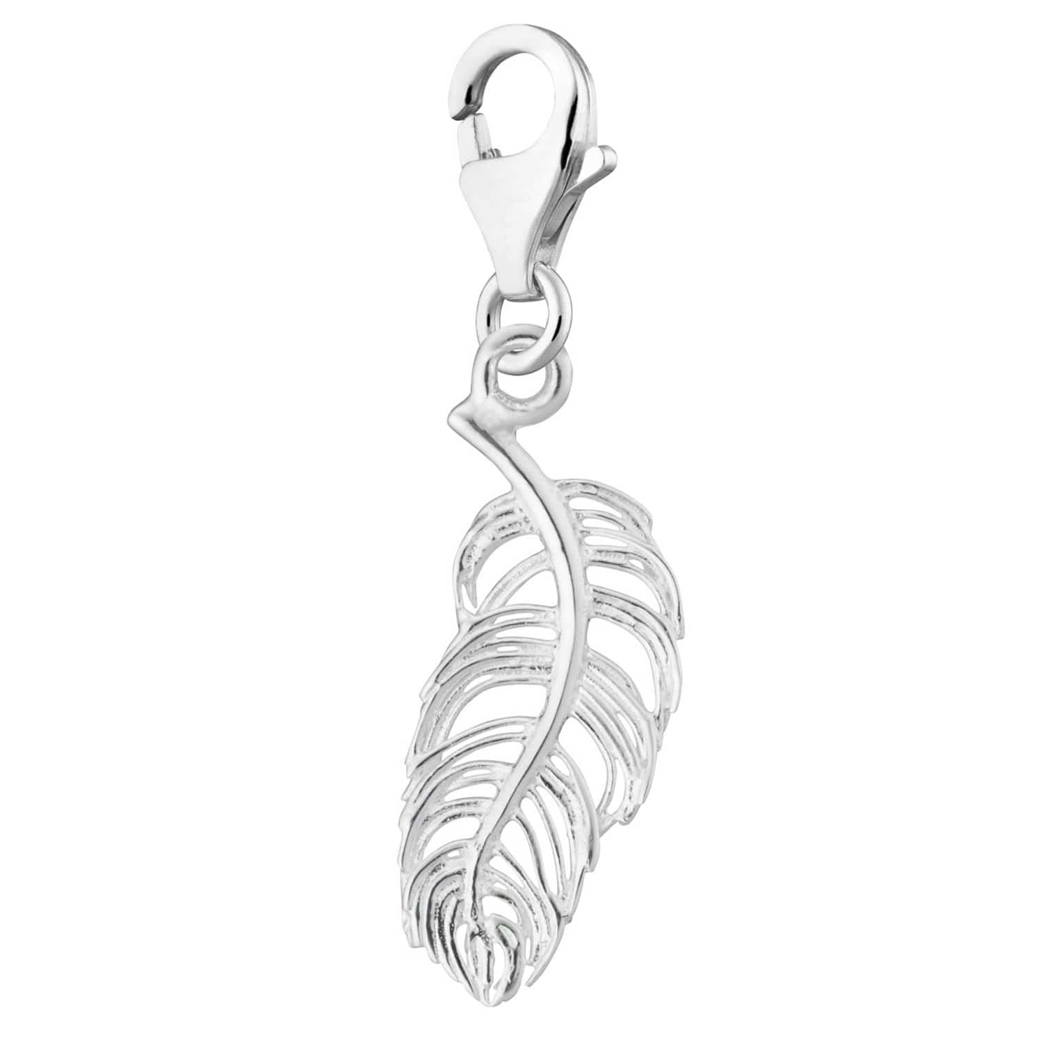 Silver Feather Charm - Lily Charmed