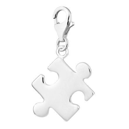 Lily Charmed Clip On Charm for Bracelet or Necklace 925 Sterling Silver Bourbon Charm or 18ct Gold Plated