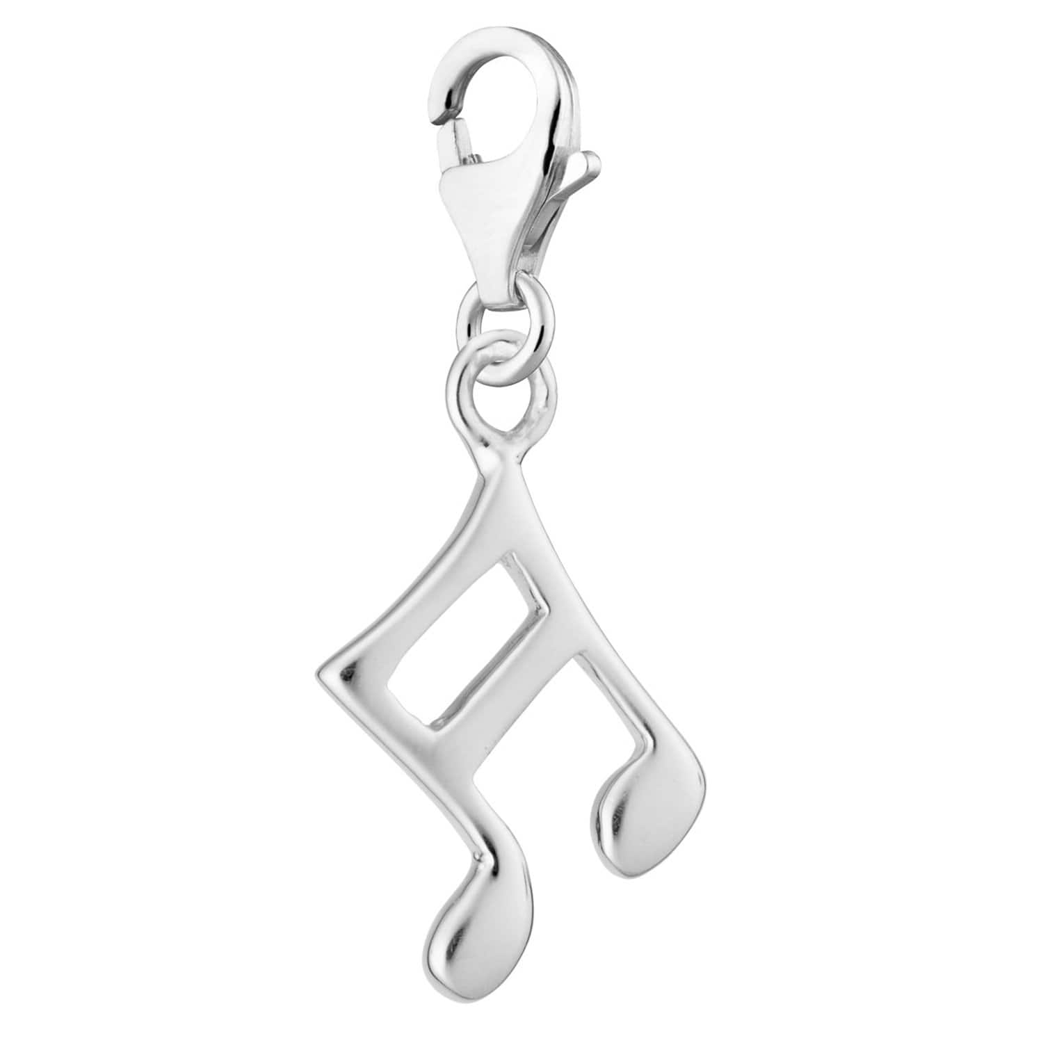 Silver Music Note Charm - Lily Charmed