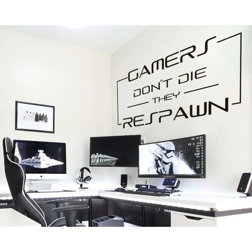 WALLART - GAMERS DON'T DIE