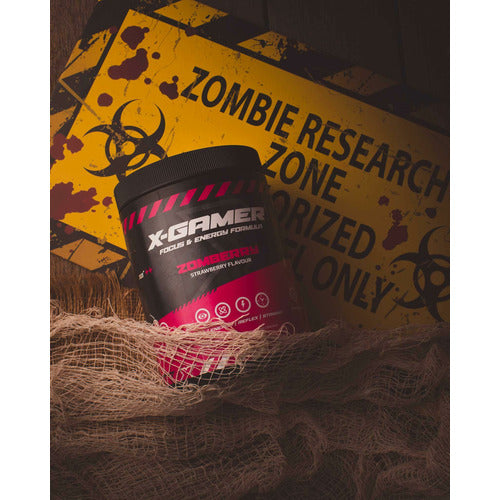 X-Gamer - Zomberry (X-Tubz 600g / 60 servings)