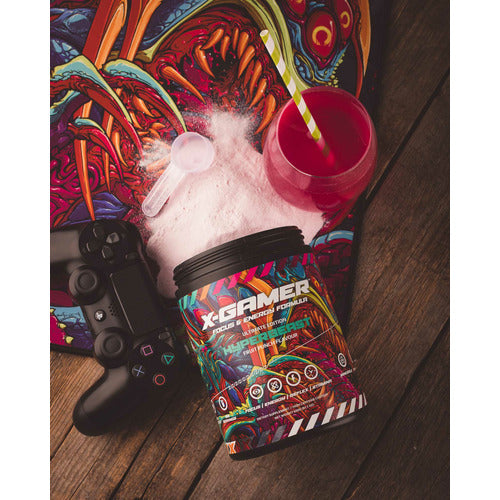 X-Gamer Hyperbeast (X-Tubz 600g / 60 servings)