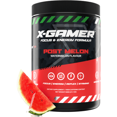 X-Gamer Post Melon (X-Tubz 600g / 60 servings) - Fandrops.com
