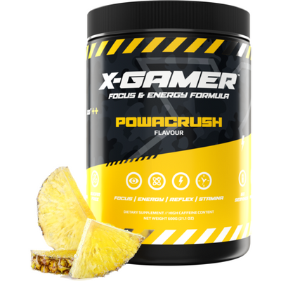 X-Gamer Powacrush (X-Tubz 600g / 60 servings) - Fandrops.com