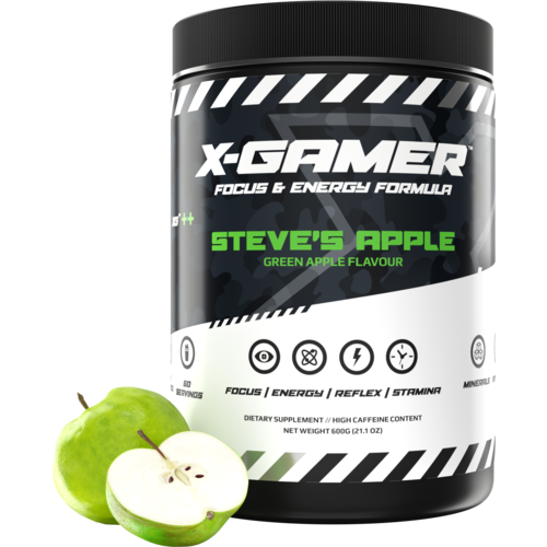 X-Gamer Steve's Apple (X-Tubz 600g / 60 servings) - Fandrops.com