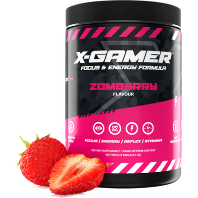 X-Gamer Zomberry (X-Tubz 600g / 60 servings) - Fandrops.com