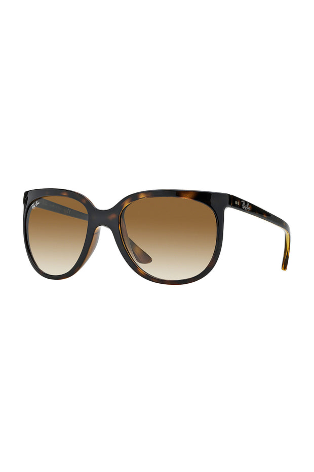 Cats 1000 in Light Havana size 57 with clear gradient brown Lenses