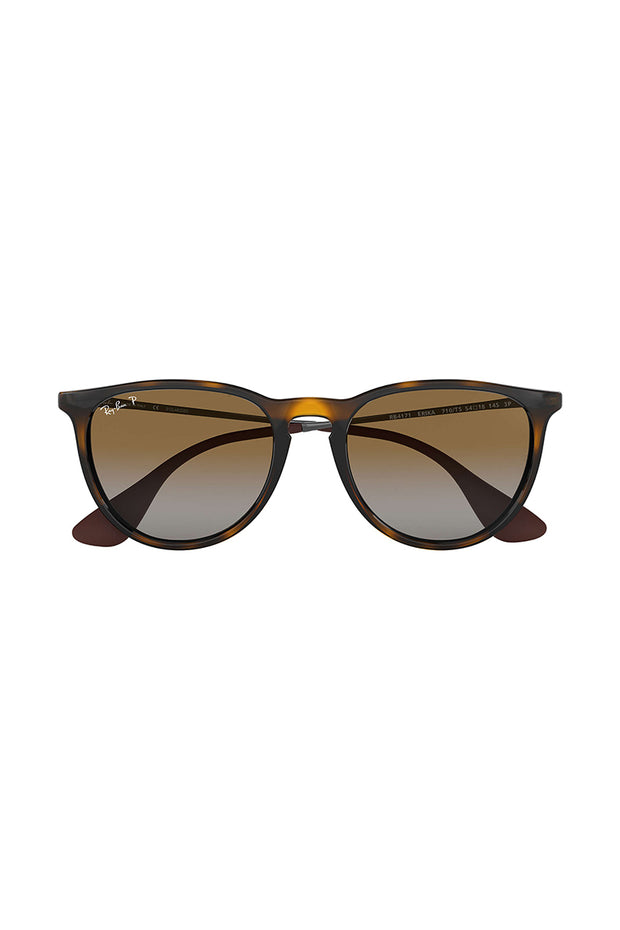 Erika Classic Light Havana w/ GREY GRADIENT BROWN NYLON UNISEX SUNGLASS