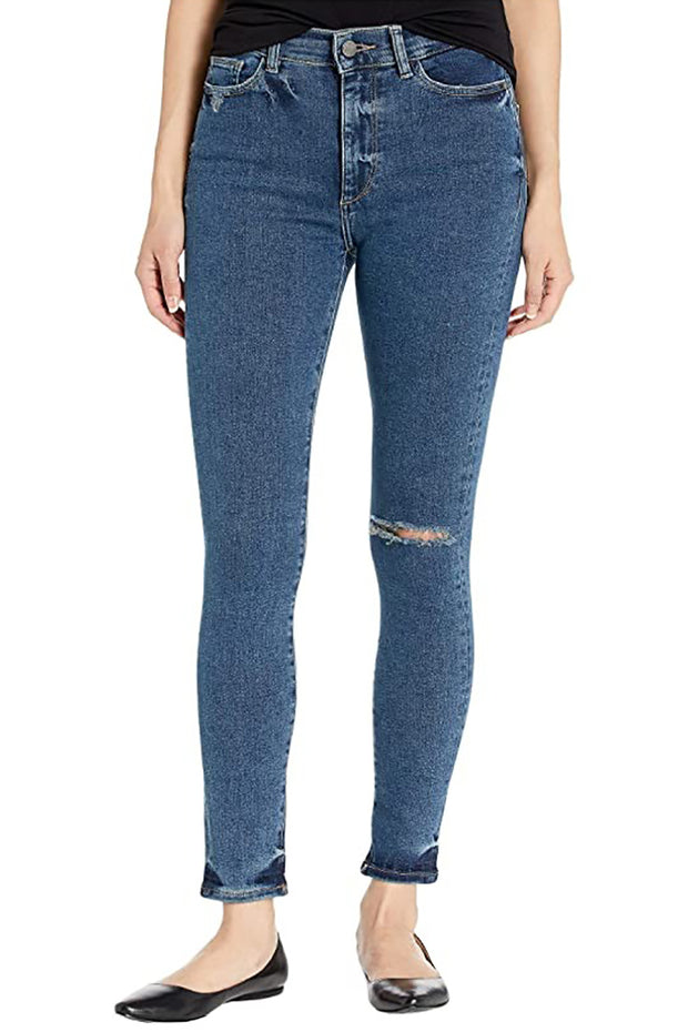 "Farrow Ankle High Rise Instasculpt Skinny in ""Gresham"""