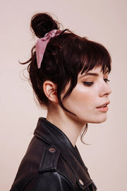 Purple Haze - Bow Scrunchie