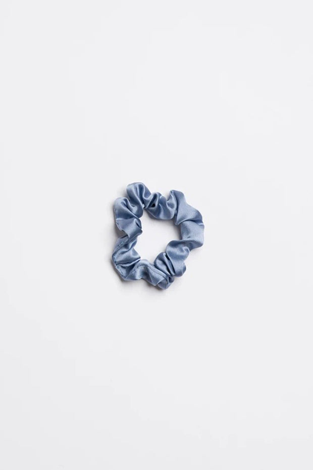Blue Jean Baby - Small Scrunchie