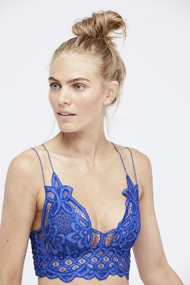Intimates-Adella Bralette #2-Free People-Blue-Ox-Boutique-Blue