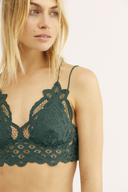 Intimates-Adella Bralette #2-Free People-Blue-Ox-Boutique-Emerald