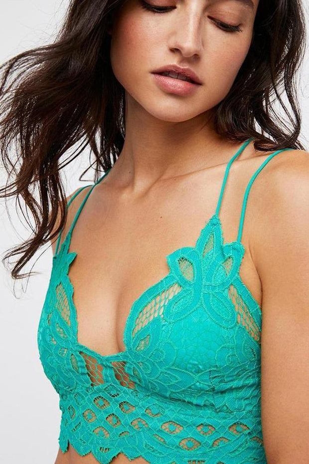 Intimates-Adella Bralette-Free People-Blue-Ox-Boutique-Aqua Adella