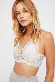 Intimates-Adella Bralette-Free People-Blue-Ox-Boutique-Stone Adella