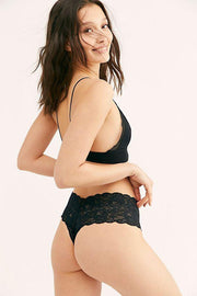 Intimates-Never Say Never Comfie Cutie Thong-Cosabella-Blue-Ox-Boutique-