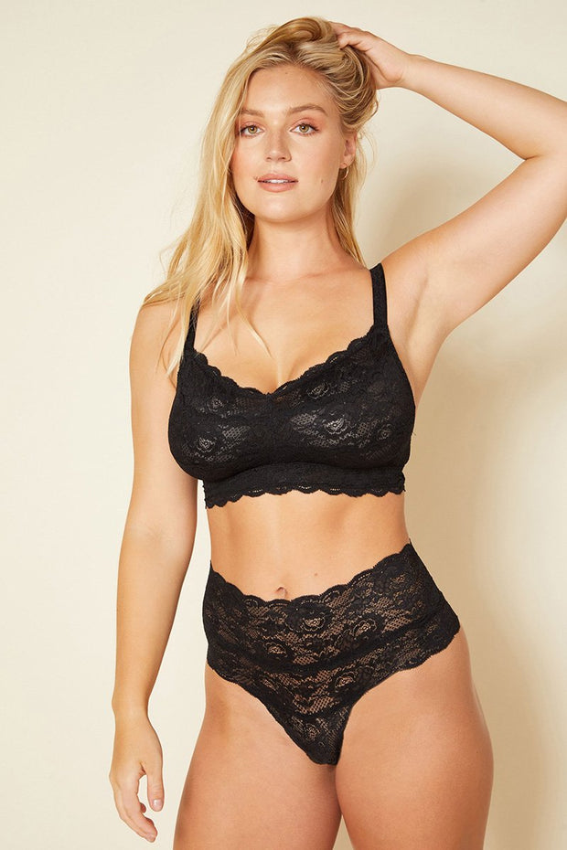 Intimates-Never Say Never Curvy Sweetie Soft Bra-Cosabella-Blue-Ox-Boutique-Black