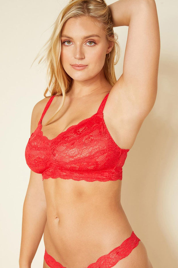 Intimates-Never Say Never Curvy Sweetie Soft Bra-Cosabella-Blue-Ox-Boutique-Rolssetto