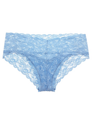 Intimates-Never Say Never Hottie Lowrider Hotpant-Cosabella-Blue-Ox-Boutique-Jewel Blue