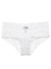 Intimates-Never Say Never Hottie Lowrider Hotpant-Cosabella-Blue-Ox-Boutique-White