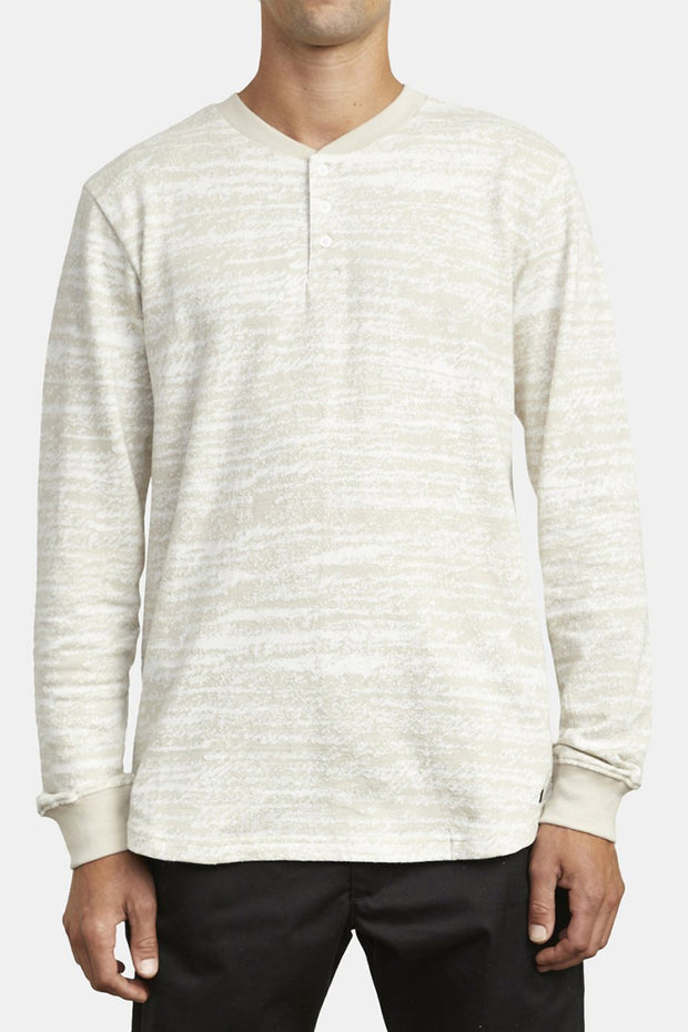 Lush Henley Long Sleeve Tee