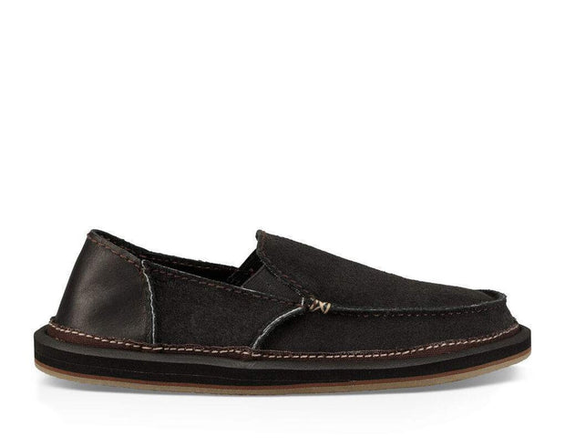 Mens Shoes-Vagabond Artesano-Sanuk-Blue-Ox-Boutique-Black