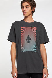Shirts-Floatation Short Sleeve Tee-Volcom-Blue-Ox-Boutique-Medium