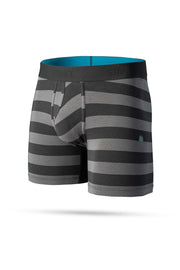 Underwear-Mariner St 6in Boxer Brief-Stance-Blue-Ox-Boutique-Black