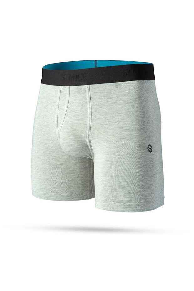 Underwear-Staple St 6in Boxer Briefs-Stance-Blue-Ox-Boutique-Heather Grey