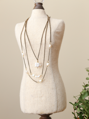 Pearl Necklace Trio