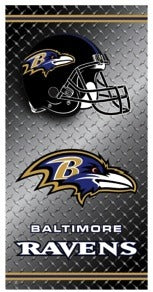 Ravens Beach Towel