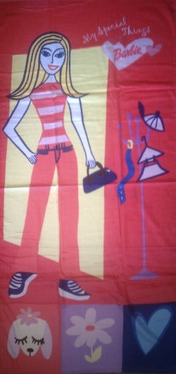 Barbie Beach Towel