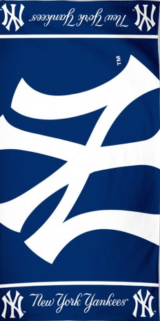 Big New York Yankees Beach Towel