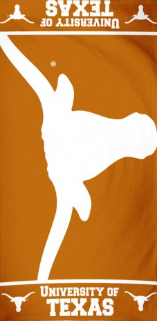 Big University of Texas Beach Towel