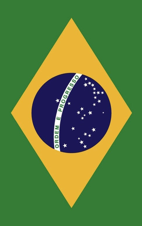 Brazilian Flag Beach Towel