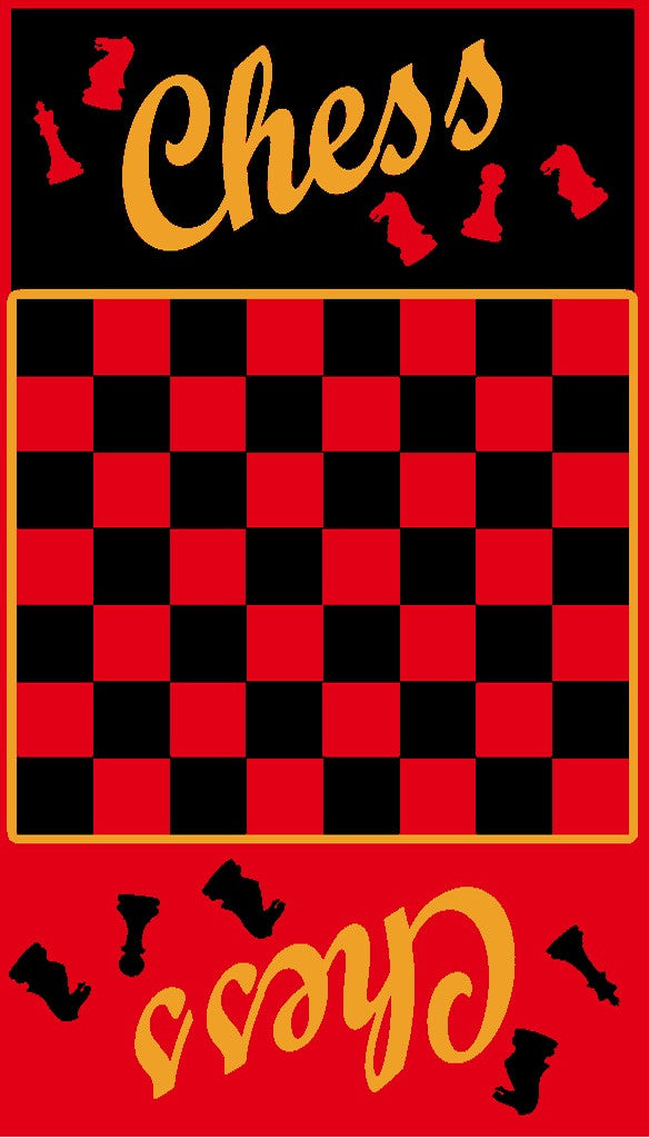 Chess Beach Towel