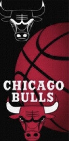 Chicago Bulls Beach Towel
