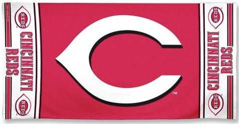 Cincinnati Reds Beach Towel
