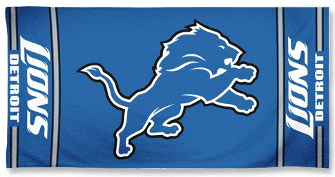 Lions Beach Towel