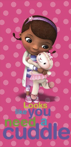 Doc McStuffins Beach Towel