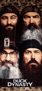 Duck Dynasty Beach Towel