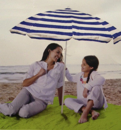 Large Green Beach Blanket