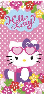 Hello Kitty Beach Towel