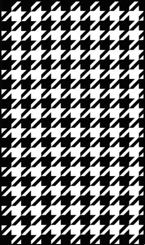 Houndstooth Beach Towel