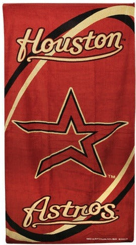 Houston Astros Beach Towel
