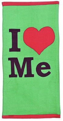 I Love Me Beach Towel