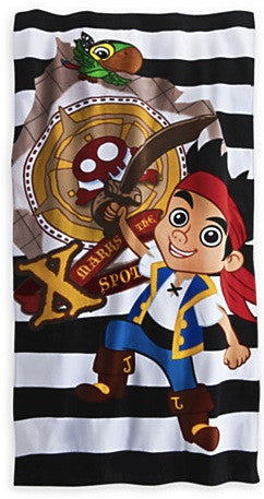 Jake and the Neverland Pirates Beach Towel