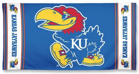 University of Kansas Beach Towel